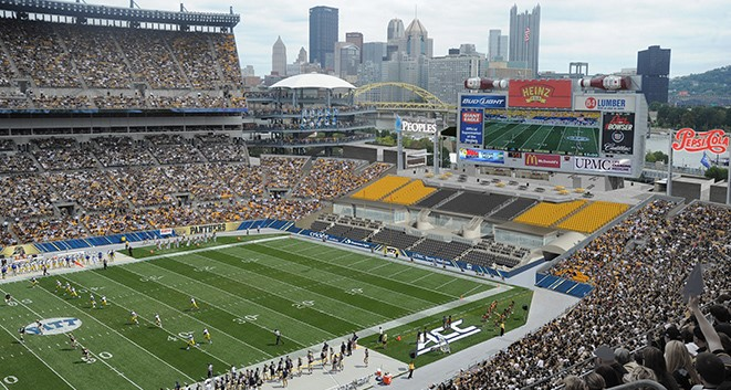 2018 Pittsburgh Steelers And Regional College Football Schedules