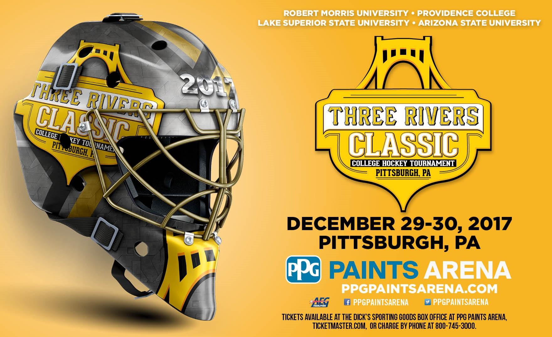 Three Rivers Classic Men S College Hockey Tournament Pittsburgh